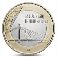 FINLAND FINLANDE FINNLAND 5 EURO PROVINCIAL BUILDINGS LAPLAND 2012 UNC - Finland