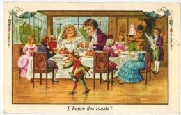 Lot 7 Cartes ILLUSTRATEUR Non Signé Scène Enfants Boys Girls  Adultisés Et Embourgeoisés - Enfant Mondain Bourgeois - Illustrateurs & Photographes
