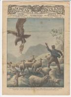 Rivista Del 1931 Aquila Attacca Un Gregge In Abruzzo  LITHO + Coltivazione Pistacchio Su ETNA  Bronte  Adrano  Paternò - Ante 1900