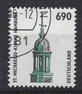 Germany 1996  Sehenswurdigkeiten: St-Michaelis-Kirche, Hamburg  (o)  Mi.1860 - [7] République Fédérale