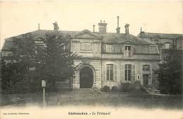 Eure Et Loir - Ref A34- Chateaudun -le Tribunal - Theme Justice - Tribunaux  -carte Bon Etat   - - Chateaudun