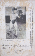 BOXE - E . MASCART - CPA - LE CHAMPION DE BOXE - Boxing