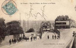 LE CREUSOT  Rues De Chalon, Des écoles Et Du Guide - Le Creusot