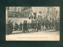 Laval  (53) - Congres  Regional De La Jeunesse Catholique De L' Ouest 7 Mars 1909 ( Hamel Jalliet Et Cie) - Laval