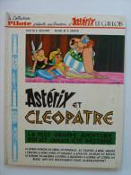 Astérix,  Astérix Et Cléopâtre, En EO 1ere édition Col. Pilote, 1965 En BE++ - Astérix