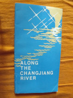 GUIDE - CHINE - ALONG THE CHANGJIANG RIVER ( RIVIERE YANGTZE) - CARTE - CHINA INTERNATIONAL TRAVEL SERVICE - ANNEE 80 - Exploration/Voyages