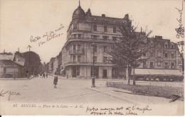 CPA RENNES 35 PLACE DE LA GARE 67 AG - Rennes