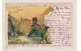 ITALIE / TRENTINO-ALTO ADIGE / BOLZANO / Schloss Ried M.Runkelstein U.Sarner Schloss / Litho De  Hirschmann - Bolzano (Bozen)