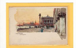 ITALIE / VENETO / VENEZIA / ILLUSTRATEUR/ La Piazzetta / Illisutrée Par Manuel Wielandt - Venezia (Venice)