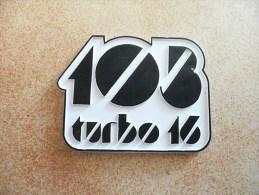 PEUGEOT - 103 TURBO 16 - Logo Autocollants Du Cadre - Neuf - TRES RARE ! - Motor Bikes