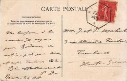 1905 - CPA Avec CàD Type D4 De Rennes (Ile-et-Vilaine) - FRANCO DE PORT - Marcophilie (Lettres)