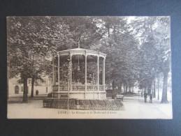 CP BELGIQUE (V06) LIèGE (2 Vues) Le Kiosque Et Le Boulevard D'Avroy - Liege