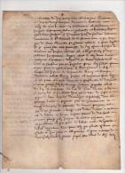 PARCHEMIN , 1670, Saint-Bernard Les Citeaux , Nuits St-Georges , Chambolle, Morey ( 71 ), Constitution De Rente - Manuscrits