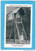 OCEANIE-ARCHIPEL DES ILES SALOMON-GUADALCANAR -LE SONNEUR DU VILLAGE-années 1910-20 - Salomon