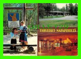 FINLAND - TERVEISET NAPAPIIRILTA - ROVANIEMI SUOMI FINLAND - TRAVEL IN 1985 - - Finlande