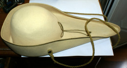 Cappello Feluca Goliardica Universita' , COLORE GIALLO , ITALIAN UNIVERSITY CAP - Casques & Coiffures