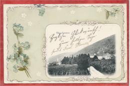 67 - OBERBRONN - Carte Fantaisie Fleur - Kloster - Couvent - Frankrijk