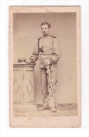 ORIGINAL PHOTO Of Fotografisches Atelier J. M. Maurer  German Soldier Of  Beginning Of The Century. - Documents