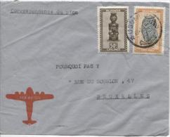 Ruanda Urundi TP 159-168 S/L.Avion C.Usumbura V.Bruxelles PR719. - Ruanda-Urundi