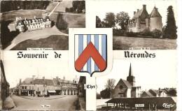 Cpsm Nerondes Souvenir - Nérondes