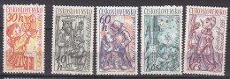 PGL CB328 - TCHECOSLOVAQUIE Yv N°1156/60 ** - Cecoslovacchia