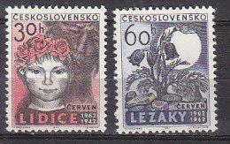 PGL CB342 - TCHECOSLOVAQUIE Yv N°1220/21 ** - Cecoslovacchia
