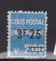 FRANCE COLIS POSTAL N°154  3F25 S 2F BLEU COLIS ENCOMBRANT NEUF SANS CHARNIERE - Colis Postaux