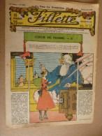 """1932 Journal """"FILLETTE"""" :de Belles Histoires à Suivre Et Aussi Ponctuelles ...et   LE SAC A MALICES...etc - Fillette"""