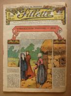 """1932 Journal """"FILLETTE"""" :de Belles Histoires à Suivre Et Aussi Ponctuelles .LE RETOUR DU MARIN  ( Au Château De Kerdec) - Fillette"""