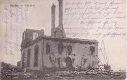 AK Saales (Elsass) - Bahnhof - Soldatenbrief - Bayr. 8. Brig. Ers.-Batl. - 1915 (4893) - Elsass