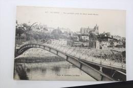 Sarthe - LE MANS - Vue Partielle Prise Du Quai Ledru Rollin - Circulée 1918 - Le Mans