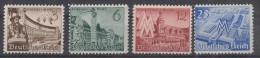 DR Minr.739-742 Postfrisch - Deutschland