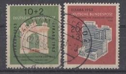 Bund Minr.171-172 Gestempelt - BRD