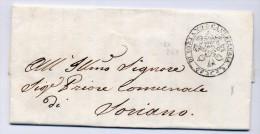 Prefilatelica Cancelleria Di Soriano 1848 Completa Di Testo - Italy