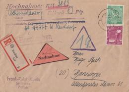 Gemein. R-NN-Brief Mif Minr.936,954 Itzehoe 9.4.48 - Gemeinschaftsausgaben