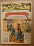 """1932 Journal """"FILLETTE"""" Belles Histoires à Suivre Et Aussi Ponctuelles Comme Celle-ci : LE POISSON ROUGE DU JAPON....etc - Fillette"""