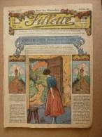 """1932  """"FILLETTE""""  Belles Histoires à Suivre Et Aussi Ponctuelles..comme Celle-ci ----->  UN BON PLACEMENT...etc - Fillette"""