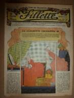 """1932  Journal  """"FILLETTE"""" Belles Histoires à Suivre Et Aussi Ponctuelles: LES PERLES.........etc - Fillette"""