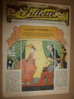 """1932  Journal  """"FILLETTE""""  Histoires à Suivre Et Aussi Ponctuelles: LE PIGEON DE LILI PAPILLON DE LA FONTAINE MEDICIS. - Fillette"""