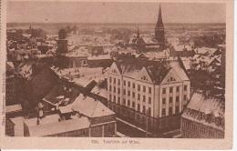 AK Mitau (Jelgava) - Totalblick - Feldpost - Bayr. Landwehr Pionier Komp. No. 9 - 1917 (4934) - Lettland