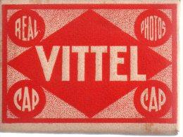 REF 177  : Carnet  10 Mini Vues Photo VITTEL - Vittel Contrexeville