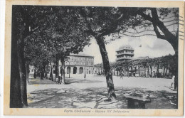 MARCHE-MACERATA-PORTO CIVITANOVA PIAZZA XX SETTEMBRE ANNI 30 - Italia