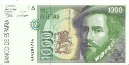 Spain 1000 Pesetas 1992 P163 UNC - [ 4] 1975-… : Juan Carlos I