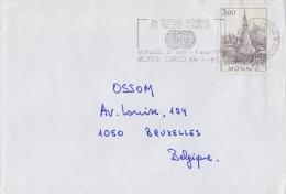 MONACO :1961,1970,1982,1993 4 Plis Voyagés / 4 Travelled Covers. - Marcofilia
