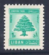 Lebanon, Scott # J69 Mint Hinged Cedar, Postage Due, 1966 - Lebanon
