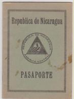 Passeport Familial NICARAGUA 1936 Family Passport - Historische Documenten