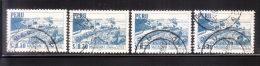 Peru 1966 Imprint INA 4v Used - Peru