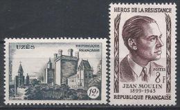 France N°1099-1100 ** Neuf - Frankreich