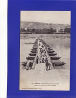 é 451) 3)   Vienne   PONT FLOTTANT ANIME  1905 =   UNE TRES TRES LEGERE TACHE ANGLE INF G  SINON Très Bon  ETAT = - Vienne