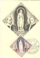 POSTAL   MONTE-CARLO  -  MONACO  -  LA INMACULADA - SS PIO XII - SS PIO IX - Monte-Carlo